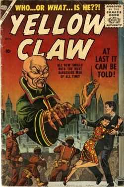 Yellow Claw comicbook cover