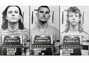 Mugshots of the West Memphis Three