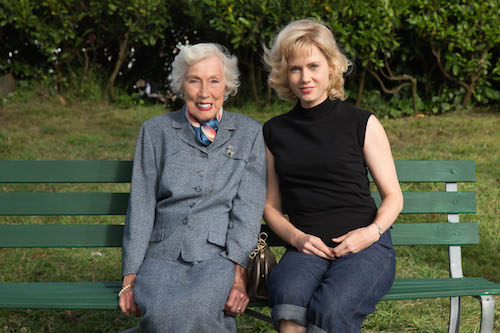 Margaret Keane with Amy Adams